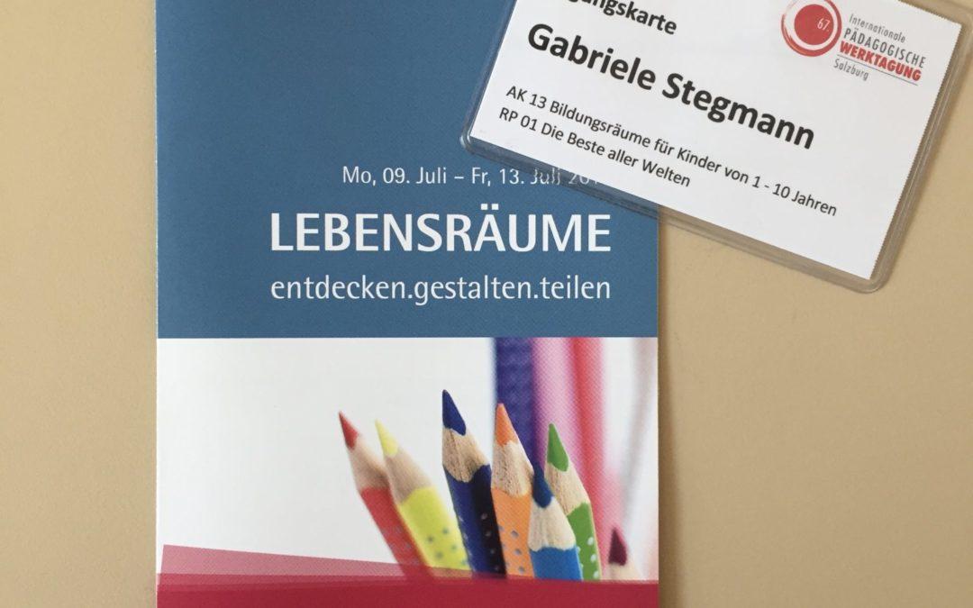 Eindrücke von der Int. Päd. Werktagung in Salzburg