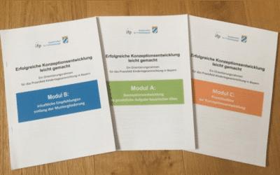 Veranstaltungen zum  Orientierungsrahmen Konzeptionsentwicklung vom IFP